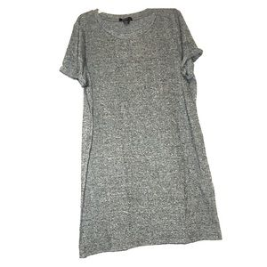 NWT Forever 21 Gray Short Sleeve Dress Large